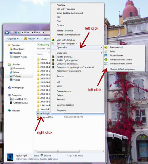 how to open z01 files in windows 7