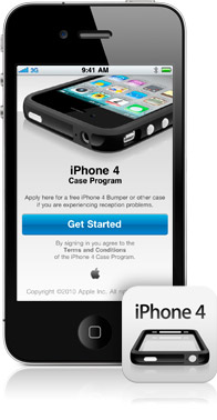 Apple iPhone 4 case program