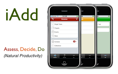 iAdd for iPhone - Natural Productivity