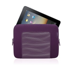 Belkin Grip Sleeve for iPad - Perfect Plum