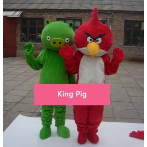 Angry Birds mascot costumes