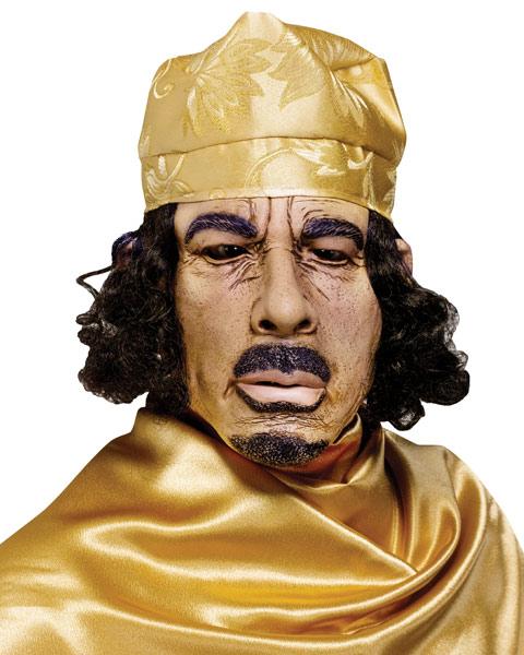 Gaddafi Halloween Mask