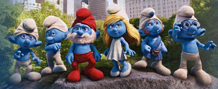 Be a cute Smurf this Halloween!